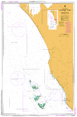 AUS 332 - Pepper Point to Geraldton Nautical Chart
