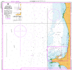 AUS 81 - Approaches to Geraldton Nautical Chart