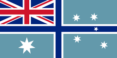 Australian Civil Aviation Flag (knitted) 1800 x 900mm