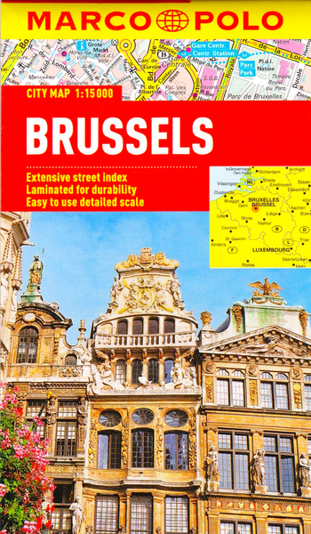 Brussels Marco Polo Map