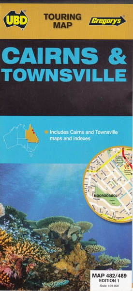 Cairns & Townsville UBD 489 / 482 Map