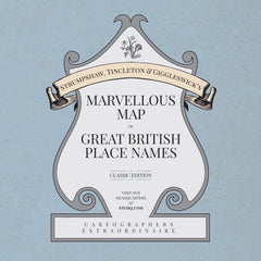 Marvellous Map of Great British Place Names