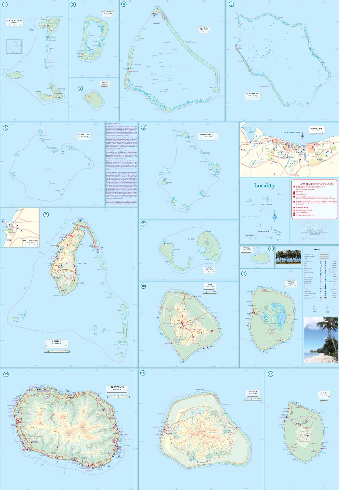 Tahiti Cook Islands Pacific Buy Map Of Tahiti Mapworld