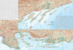 Croatian Coast & Slovenia ITMB Map