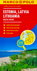 Baltic States Marco Polo Map