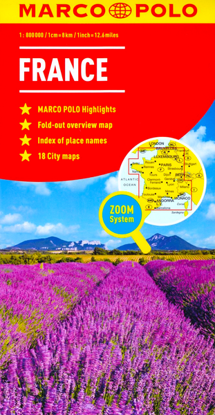 France Marco Polo Map