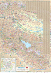 Georgia & Armenia ITMB Map