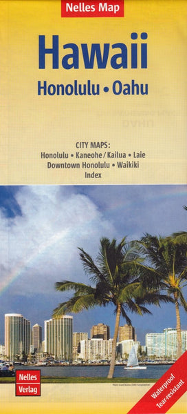 Hawaii Honolulu Oahu Nelles Map