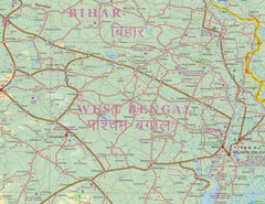 India South & North East ITMB Map