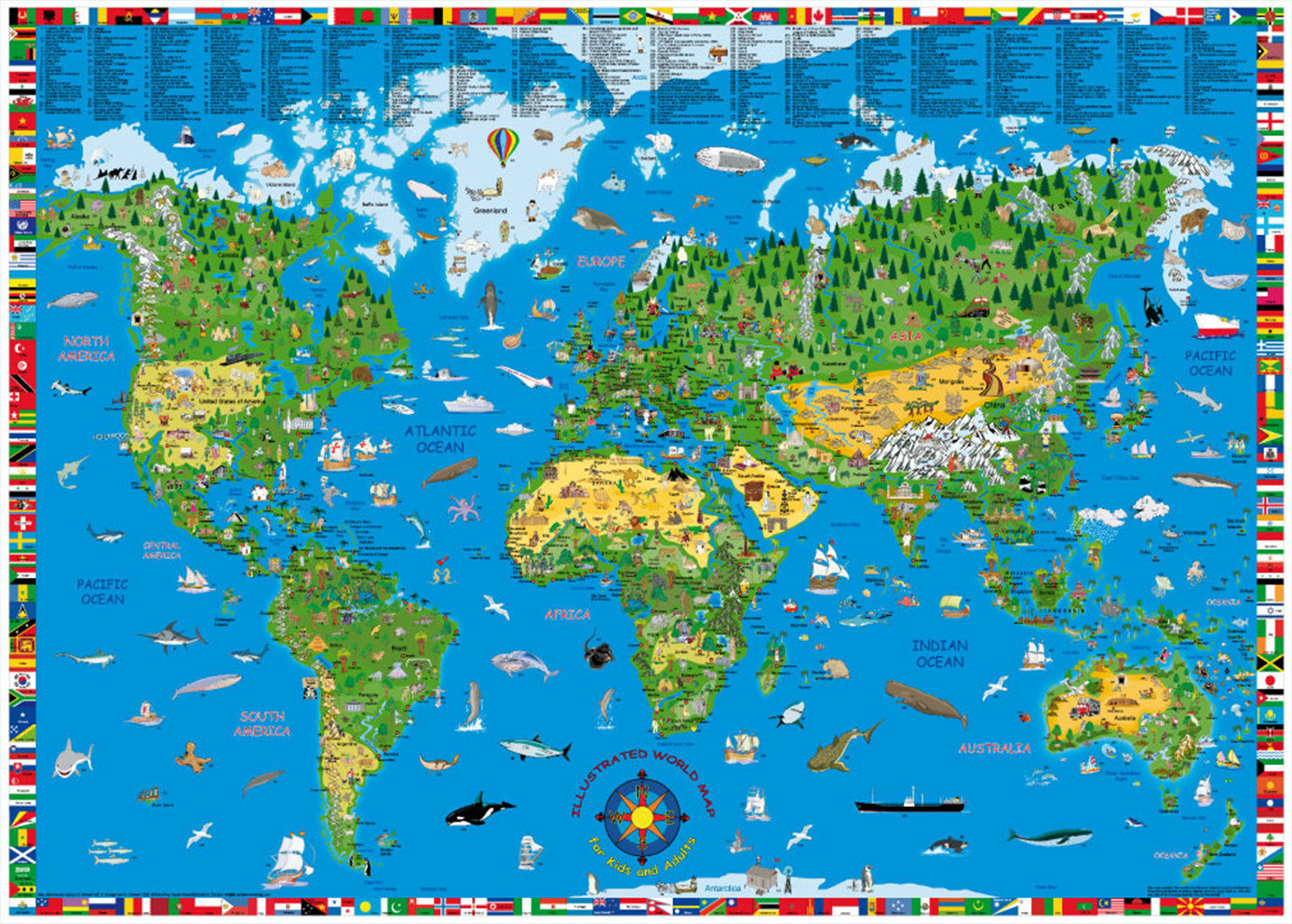 Kids World Map Laminated Buy Kids World Map Mapworld