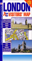 London Visitors A-Z Map