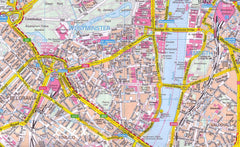 London Marco Polo Laminated Map