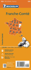 Franche - Comte 520 France Michelin Map