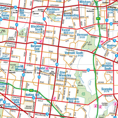 Melbourne & Region Hema Map