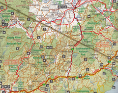 Sydney to Melbourne Hema Map