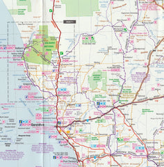 Mid West Western Australia Hema Map