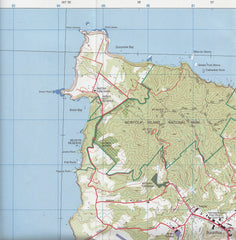 Norfolk Island Geoscience Map