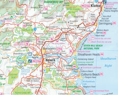 New South Wales Hema 1400 x 1000mm Supermap Laminated Wall Map