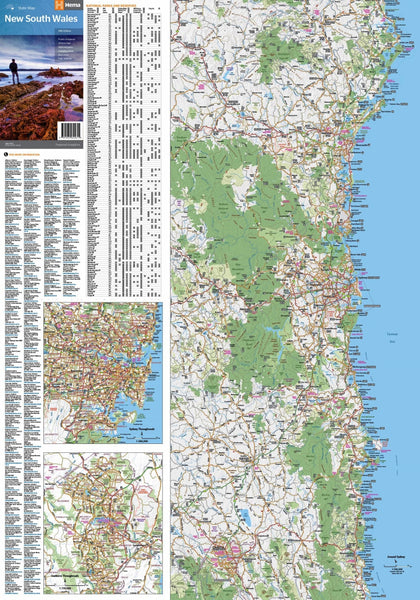 Map 0f South Of France.New South Wales Hema State Map