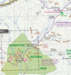 Outback Queensland Hema Map