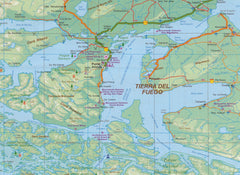 Chile South & Patagonia ITMB Map