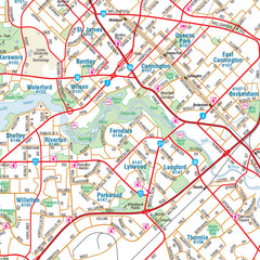 Perth & Region Map Hema