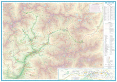 Andorra & The Pyrenees ITMB Map