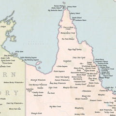 Marvellous Map of Actual Australian Place Names