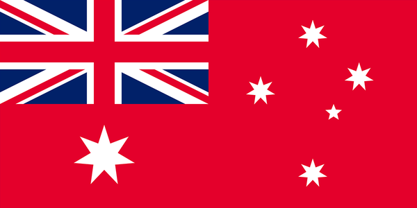 Red Ensign Flag  (knitted) 1370 x 685mm