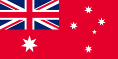 Red Ensign Flag (knitted) 500 x 250mm