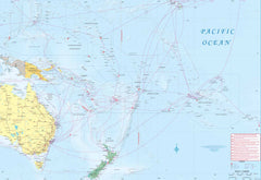 South Pacific Cruising & Samoa ITMB Map