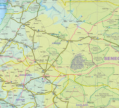 Senegal Gambia ITMB Map