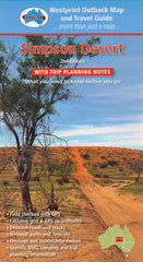 Simpson Desert Map Westprint