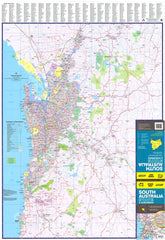 South Australia UBD 570 Map 690 x 1000mm Laminated Wall Map