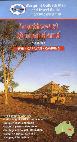 South West Queensland Map Westprint