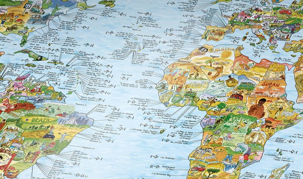 surftrip map rewritable awesome maps 975 x 560mm
