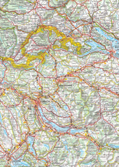 Switzerland Michelin Map 729