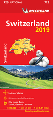 Switzerland Michelin Map