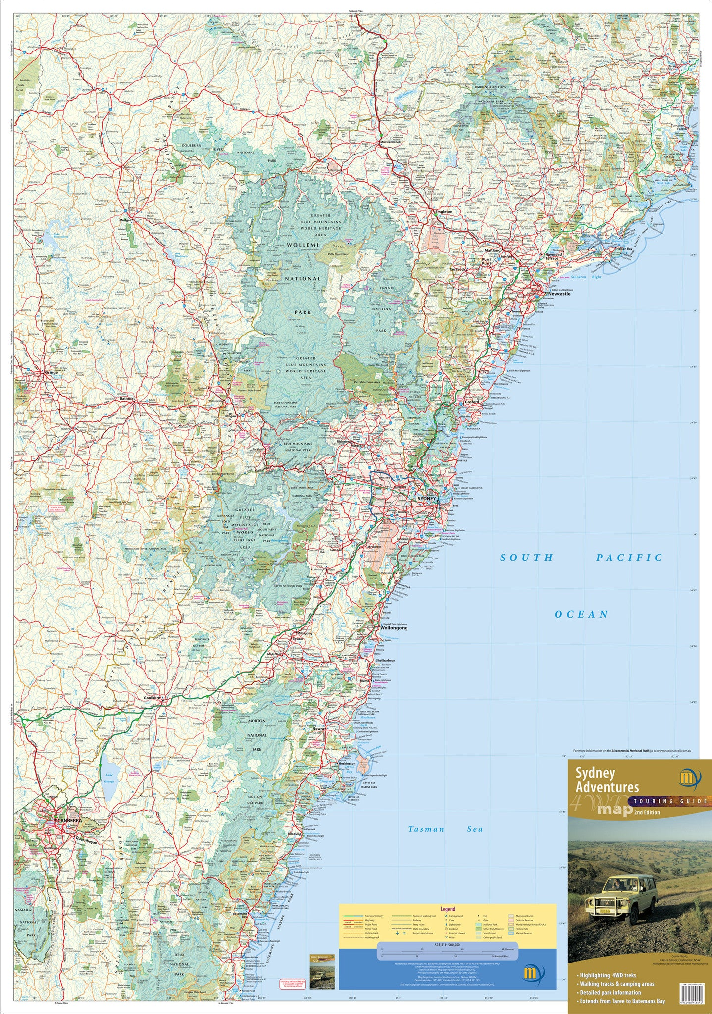 Sydney adventures 4wd map buy 4wd map for sydney mapworld sydney adventures 4wd meridian map sydney adventures 4wd meridian map gumiabroncs Images