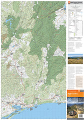 High Country Victoria Hema Map 695 x 995mm Laminated Wall Map