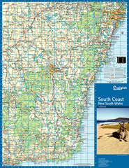 South Coast & New South Wales Craigies Map