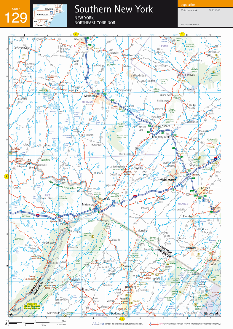 Southeast USA Map US Road Map Road Map Of United States David - Usa map with driving distances