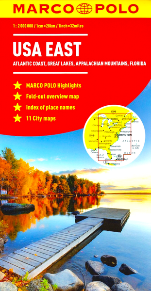 USA East Marco Polo Map