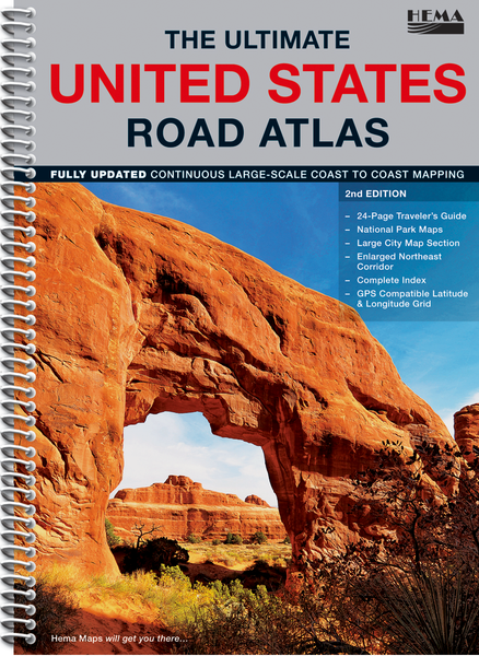 USA Ultimate Road Atlas Hema