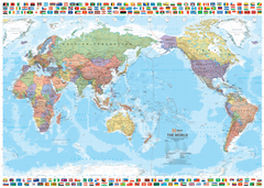 World & Flags - Hema