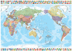 World & Flags Hema Map