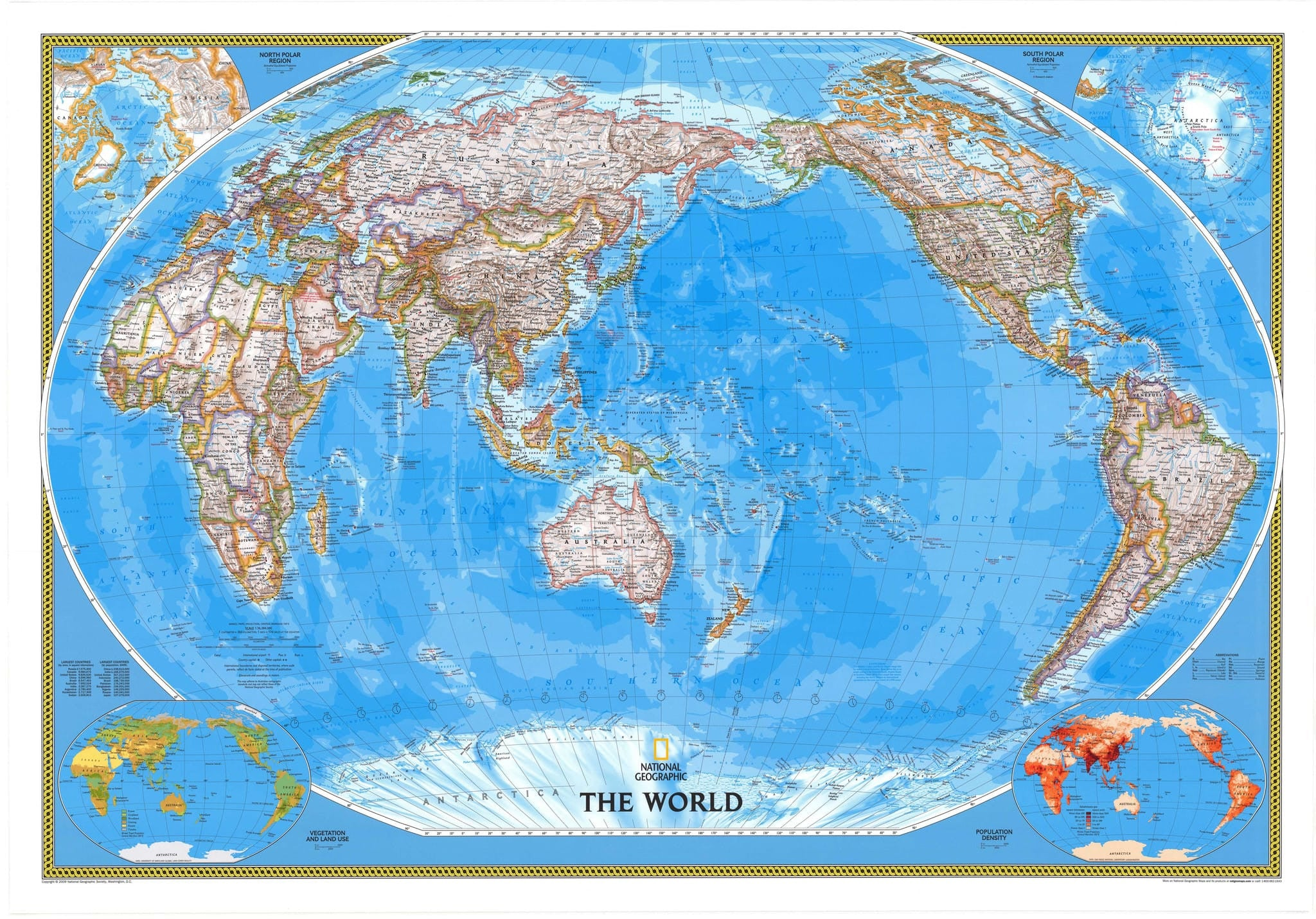 World political ngs buy world political map mapworld world political map by national geographic gumiabroncs Images