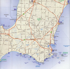 Yorke Peninsula & Copper Coast Cartographics Map