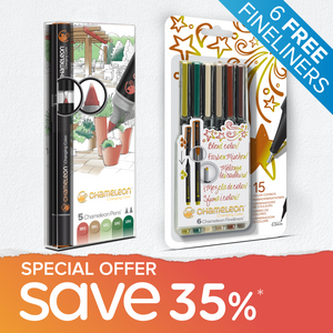 Special Offer Bundle - 5 Chameleon Pens + 6 Chameleon Fineliners