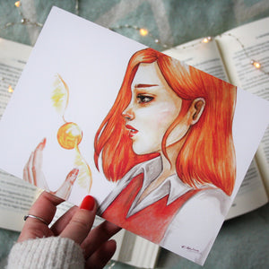 "Illustration format A5 ""Ginny"""